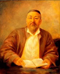 Имя Абай по китайски 阿拜 транслитом Ā bài